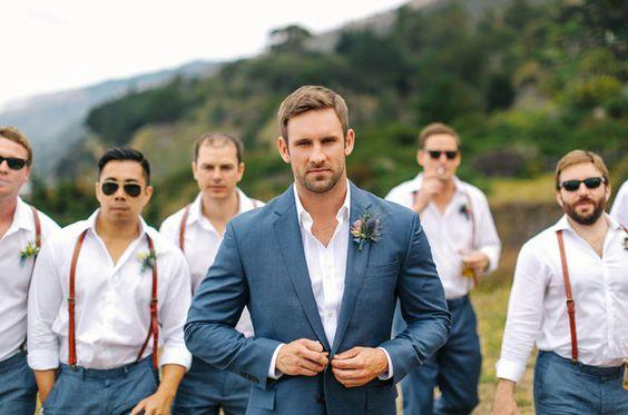 Suspensórios em casamentos: Dicas de como usar