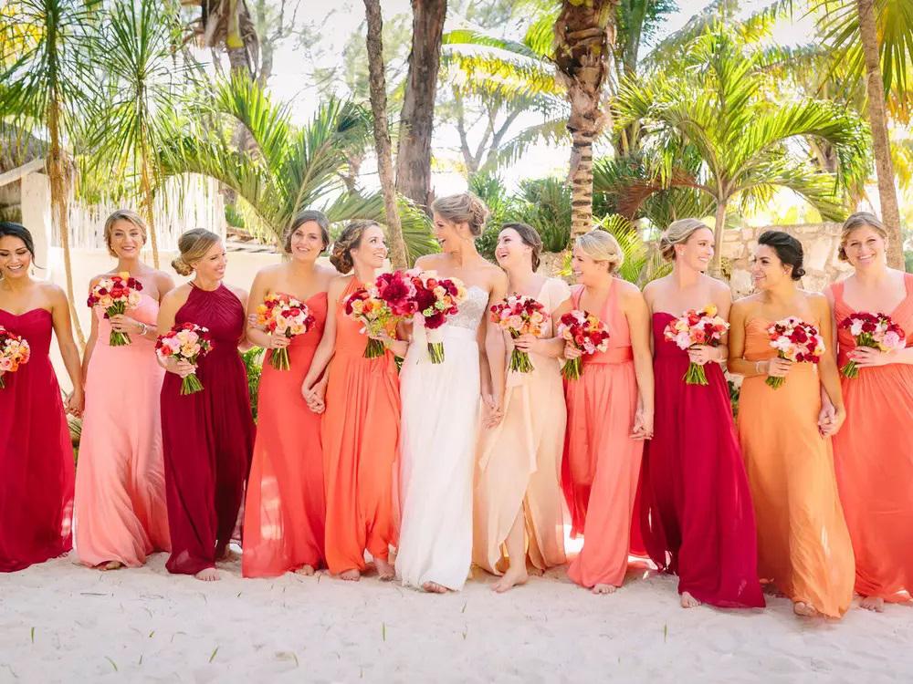 Living Coral a cor de 2019 para casamentos!